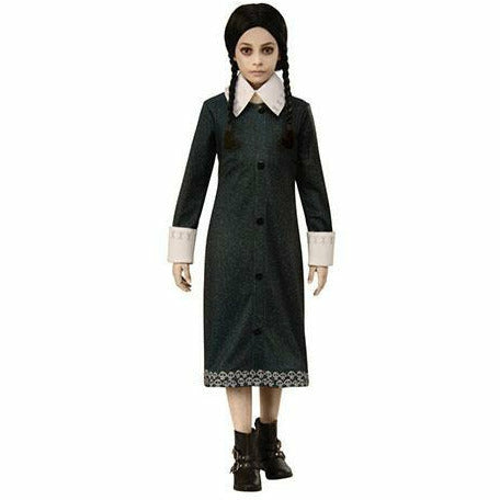 Girls Wednesday Costume - The Addams Family Animated Movie