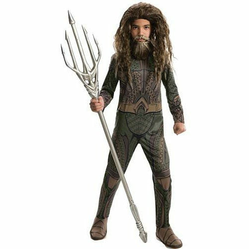 Boys Aquaman Costume - Justice League