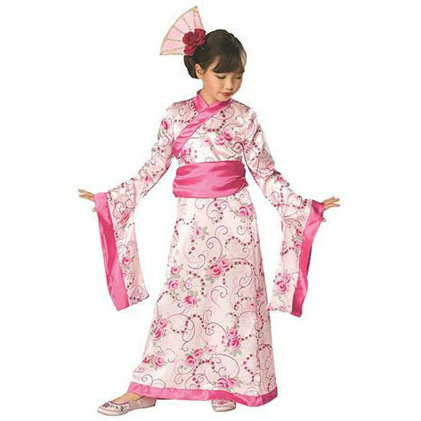 Girls Asian Princess Costume