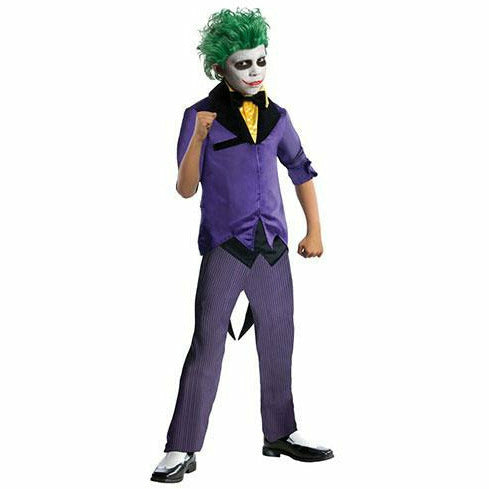 Boys Joker Costume - Gotham City Most Wanted