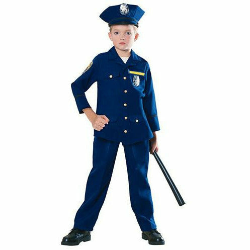 Boys Police Officer Costume