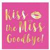 Kiss The Miss Goodbye Beverage Napkins 16ct