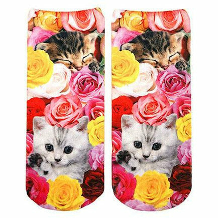KITTY GARDEN ANKLE SOCKS