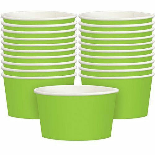 Kiwi Green Treat Cups 20ct