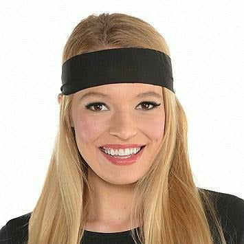 SPIRIT HEAD TIE BLACK