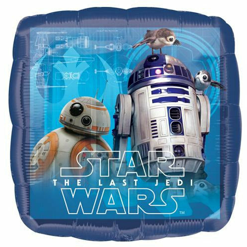 "226 The Last Jedi Star Wars 17"" Mylar Balloon"