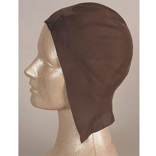 Latex Dark Skin Head Wig