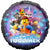 "202 The LEGO Movie 2 Let's Build Together 17"" Mylar Balloon"