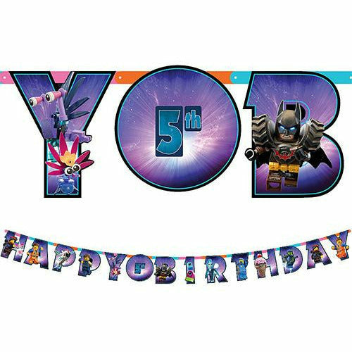 The LEGO Movie 2: The Second Part Birthday Banner Kit