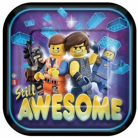 The LEGO Movie 2: The Second Part Dessert Plates 8ct
