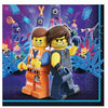 The LEGO Movie 2: The Second Part Lunch Napkins 16ct