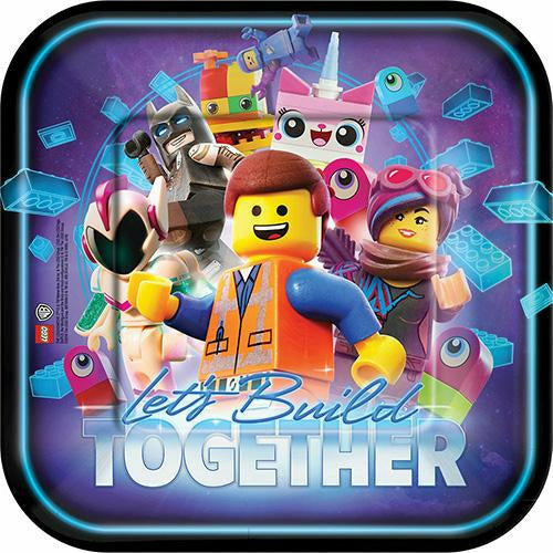 The LEGO Movie 2: The Second Part Lunch Plates 8ct