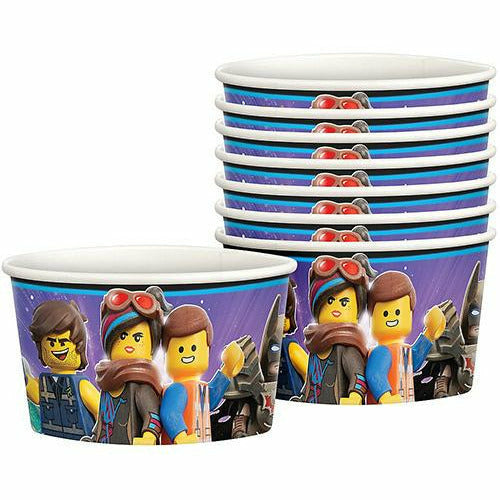The LEGO Movie 2: The Second Part Treat Cups 8ct