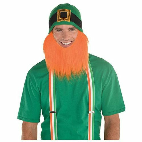 Leprechaun Beanie with Beard