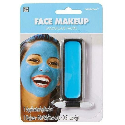 Light Blue Face Paint Makeup