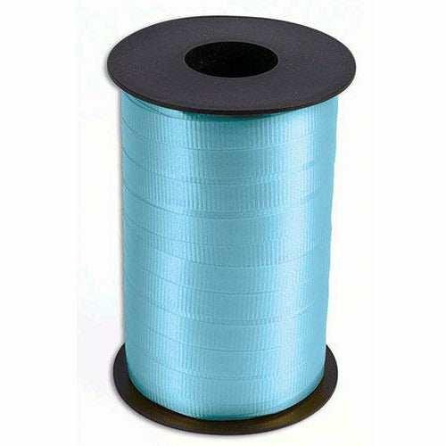 "Light Blue Curling Ribbon 3/8"" x 250 Yards"