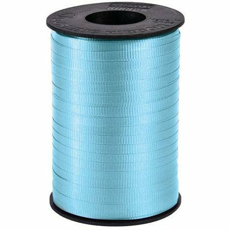 "Light Blue Curling Ribbon 3/16"" x 500 Yards"