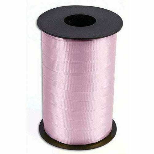 "Light Pink Curling Ribbon 3/8"" x 250 Yards"