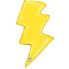 "177 Lightning Bolt Jumbo 36"" Mylar Balloon"