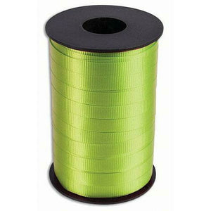Lime Green Curling Ribbon 3/8