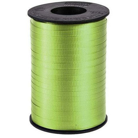 "Lime Green Curling Ribbon 3/16"" x 500 Yards"