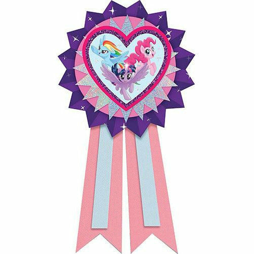 Pink & Purple My Little Pony Award Ribbon