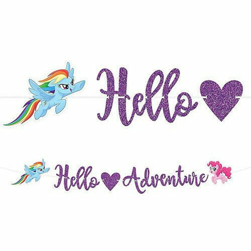Glitter My Little Pony Banner