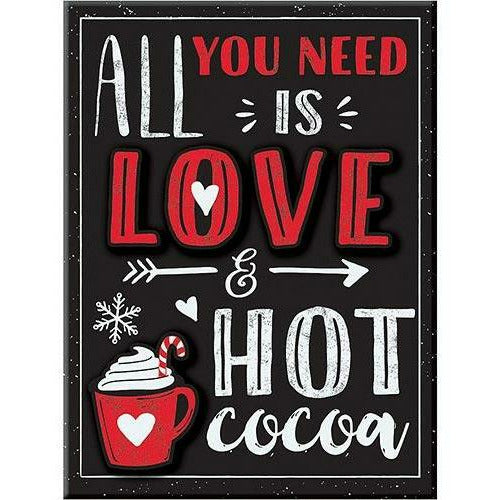 Love & Hot Cocoa Easel Sign