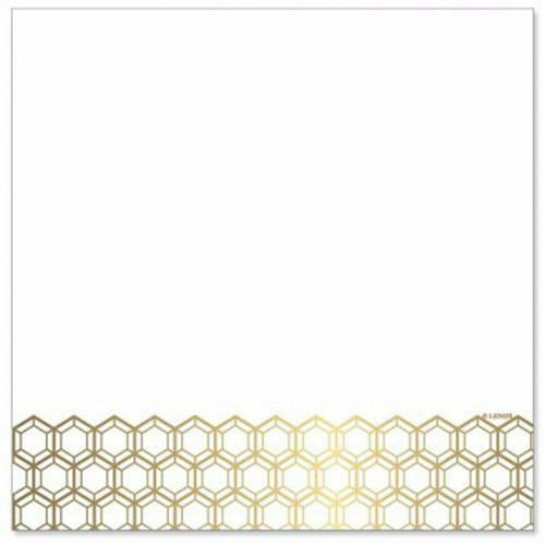 Lunch Napkin (20 Ct) - Prismatic Gold