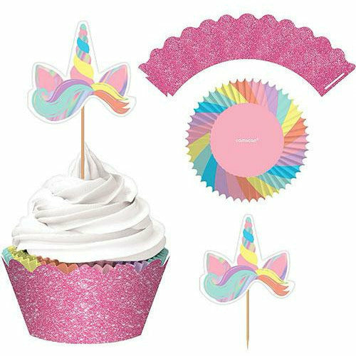 Magical Rainbow Cupcake Kit for 24