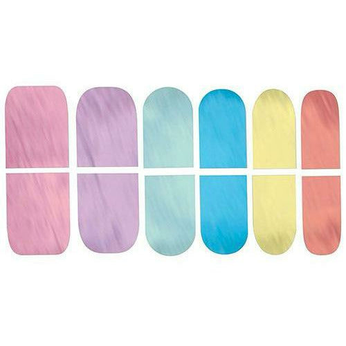 Magical Rainbow Nail Stickers 12ct