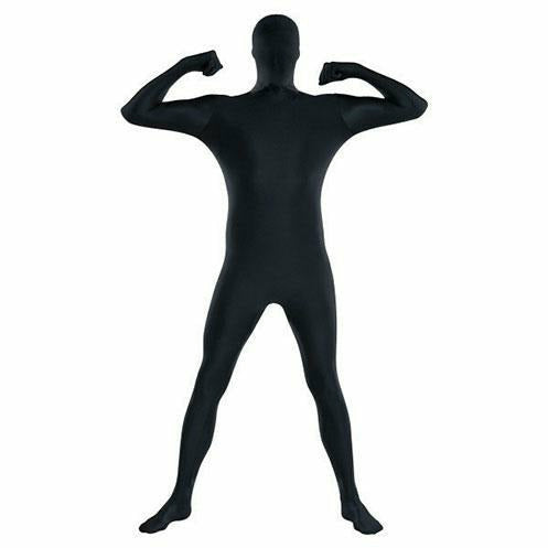 Mens Black Partysuit Costume