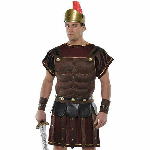 Mens Roman Soldier Set Costume