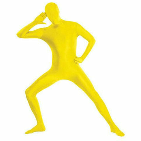 Mens Yellow Partysuit Costume