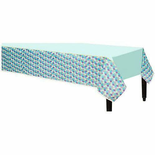 Wishful Mermaid Paper Table Cover