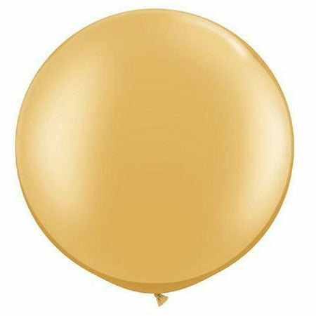 "Metallic Gold 30"" Latex Balloon"