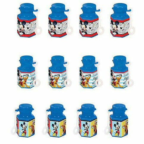 Mickey Mouse Mini Bubbles 12ct