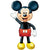 "142 Mickey Mouse Airwalker 52"" Mylar Balloon"