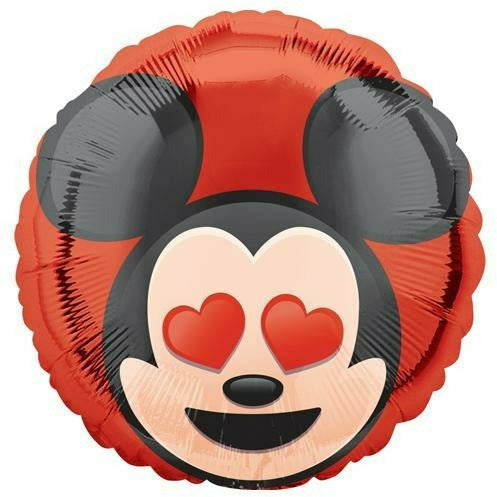 "*A008 Mickey Mouse Emoji 17"" Mylar Balloon"