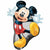 "*A004 Mickey Mouse Jumbo 31"" Mylar Balloon"