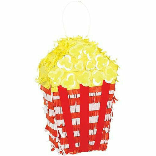 Mini Popcorn Box Pinata Decoration