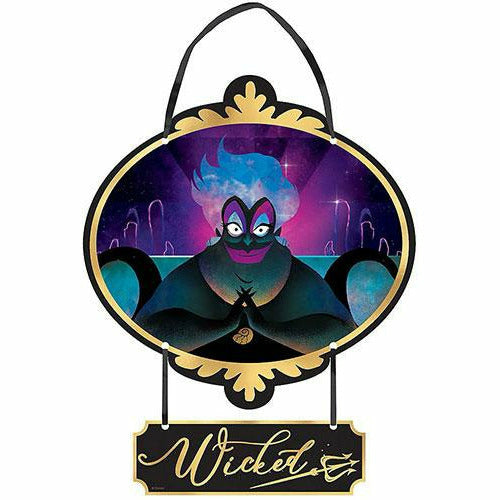 Mini Wicked Ursula Disney Stacked Sign - Disney Villains