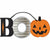 Mini Boo Halloween Sign
