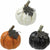 Mini Resin Pumpkins 3ct