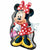 "145 Minnie Mouse Jumbo 32"" Mylar Balloon"