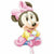 "D007 Baby Minnie Mouse Jumbo 33"" Mylar Balloon"