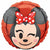 "Minnie Mouse Emoji 17"" Mylar Balloon"