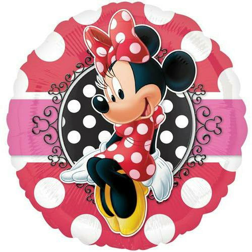 "155 Minnie Mouse 17"" Mylar Balloon"
