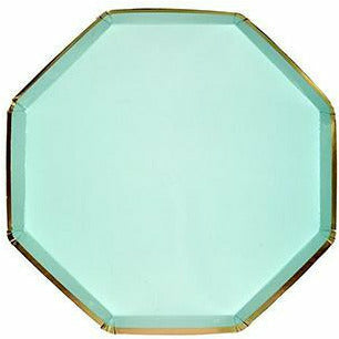 Mint Cocktail Plates