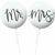 Mr. & Mrs. Wedding Balloons 2ct